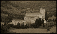 Sant' Antimo Abbey http://tuscanmuse.com